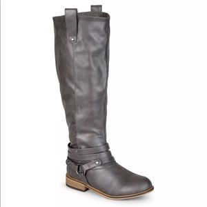 Journee Collection Extra Wide Calf Riding Boot 8.5